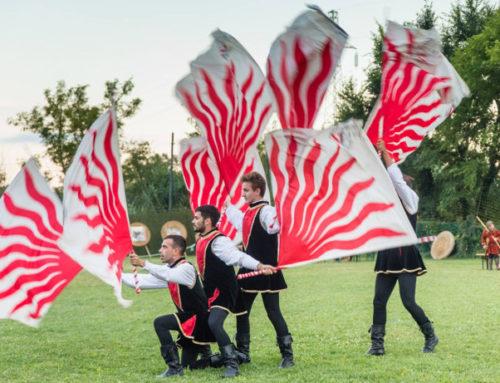 Bandiera: arte, spettacolo e sport